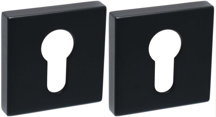 Safita Original Накладка под цилиндр PZ R64 FB черный мат