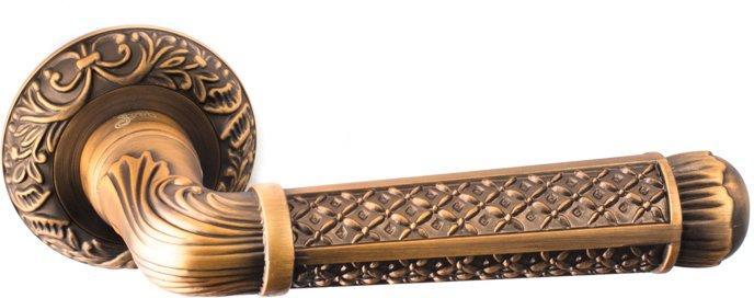 Ручки Safita R08 H195 YB кофе - Дверные ручки — фото №1
