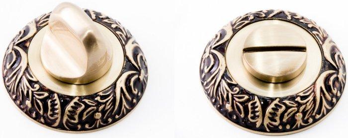 Фиксатор для ручки Ручки Safita R08 H195 RAC золото с патиной
