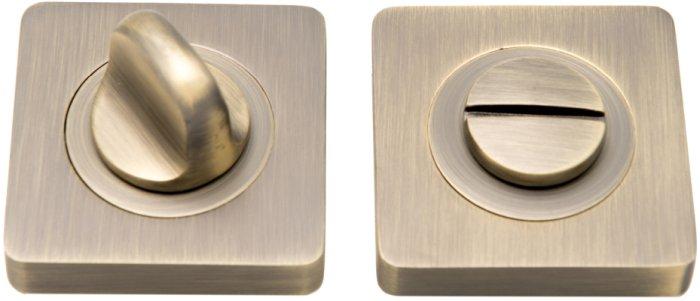 Фиксатор квадратный WC R11 матовая бронза