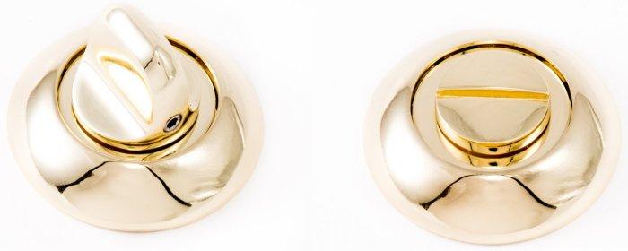 Фиксатор WC R14 полированное золото