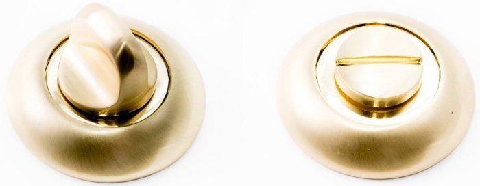 Фиксатор WC R14 матовое золото / полированное золото