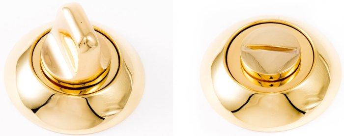 Фиксатор WC R47 полированное золото