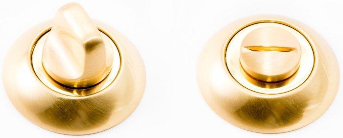 Фиксатор WC R47 матовое золото / полированное золото