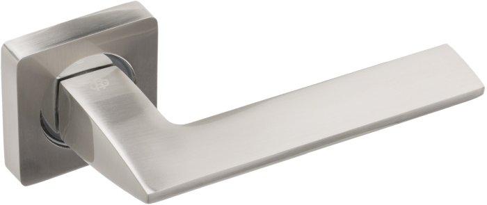 Ручки Gavroche Scandium SN/CP матовый никель / полированный хром - Дверные ручки — фото №1