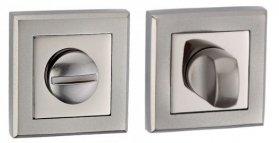 Фиксатор квадратный AF-2 WC матовый никель / полированный хром