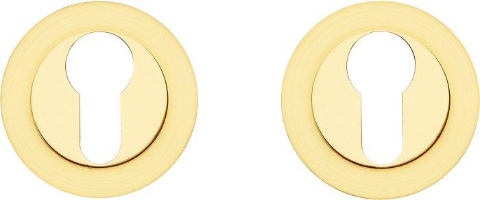Gavroche Накладка под цилиндр Z2 SB/PB матовое золото / полированное золото