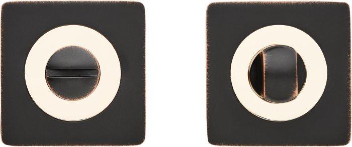 Фиксатор Z3 ORB/PB черный мат с патиной / полированное золото