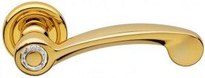 Дверные ручки Ручки Linea Cali Cosmic золото полированное