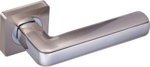 Дверная фурнитура Ручки Chromium Gavroche SN/CP матовый никель / полированный хром