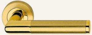 Дверные ручки Ручки Linea Cali Karina матовая латунь / полированная латунь
