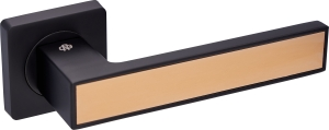 Дверная фурнитура Ручки Magnium Gavroche BLACK / GOLD