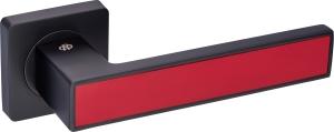 Дверная фурнитура Ручки Magnium Gavroche BLACK / RED