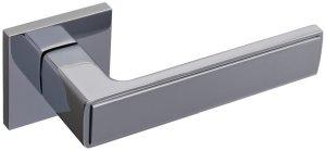 Дверная фурнитура Ручки Nikel Gavroche CP/CP полированный хром / полированный хром