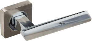 Дверная фурнитура Ручки Niobium Gavroche SN/CP матовый никель / полированный хром