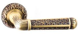 Дверные ручки Ручки R08 H195 Safita Original RAC золото с патиной