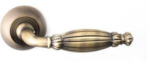 Дверные ручки Ручки R14 H219 Safita Original MAB матовая бронза