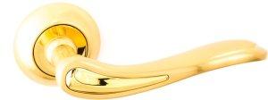 Ручки Safita R41 240 SG / GP матовое золото / полированное золото