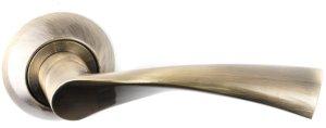 Дверная фурнитура Ручки R47 A-119 Safita AB бронза