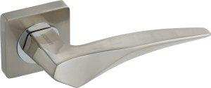 Дверная фурнитура Ручки Tantalum Gavroche SN/CP матовый никель / полированный хром