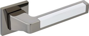 Дверные ручки Ручки Gavroche Uranium BN/CP чорний мат нікель / полірований хром