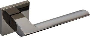Дверные ручки Wolframium Gavroche BN черный мат никель
