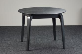 Столы и стулья Столи і стільці Cosmo Столы из ясеня  HPL черный камень