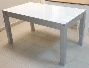 Стол серый Ниагар стекло