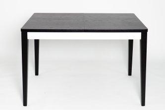 Столы и стулья Столи і стільці Прага Black-White Столы из ясеня чорна стільниця шпон