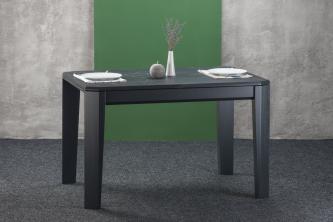 Столы и стулья Столи і стільці Premier прямокутний Столы из ясеня  HPL черный камень
