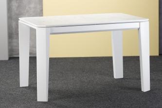 Столы и стулья Столи і стільці Premier прямокутний Столы из ясеня  HPL белый мрамор