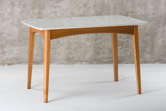 Столы и стулья Столи і стільці Senti прямокутний Столы из ясеня  скло