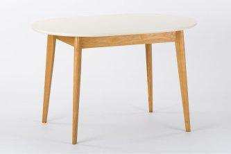 Столы и стулья Столи і стільці Елеганс білий Столы из ясеня білий RAL