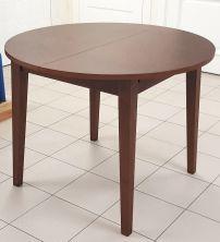 Столы и стулья Столи і стільці Мадрид круглий Столы из ясеня ilva se 7033 (каштан) шпон