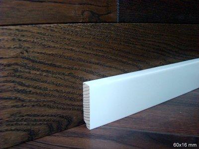 Плинтус Modern МДФ крашеный 2600 х 60 х 16 мм