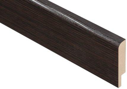 Плинтус Родос Basic R8 венге шоколадный Renolit