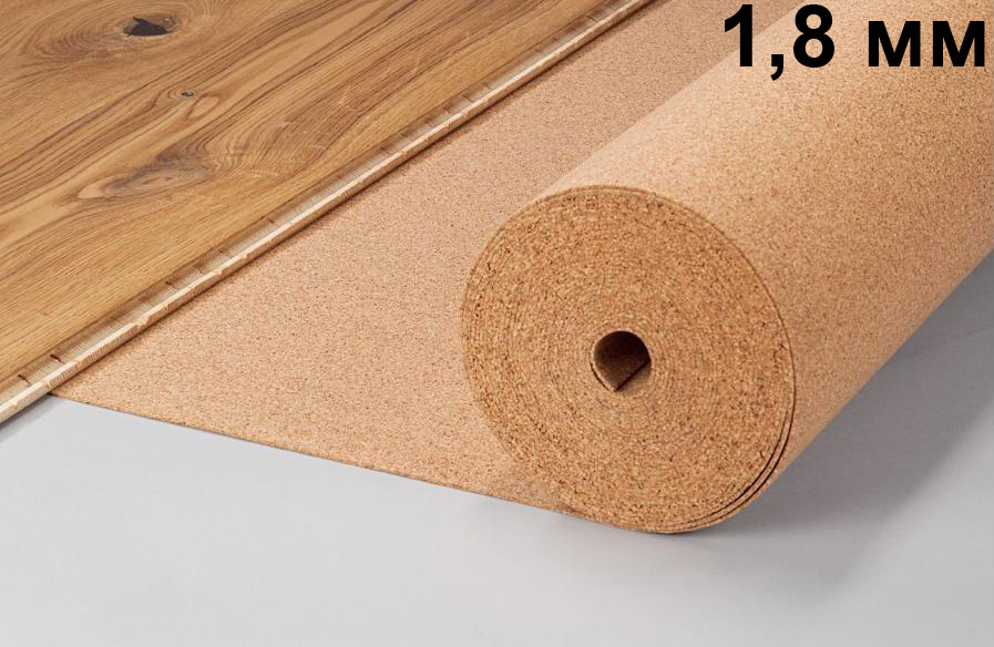 Пробковая подложка 1,8 мм