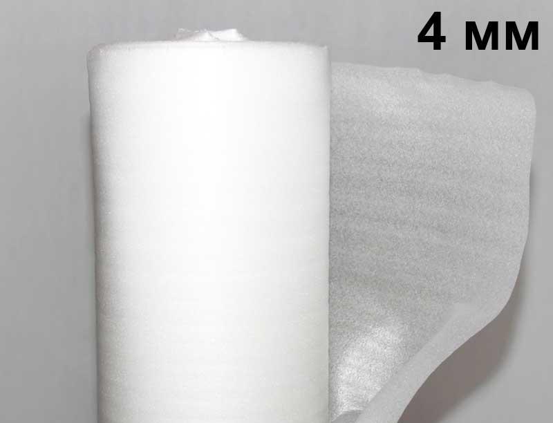 Ламинат Подложка вспененный полиэтилен 4 мм Подложка